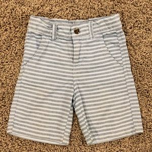 5/$25 Nautica boys blue striped shorts